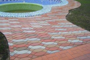 Тротуарная плитка как средство декора