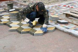 Тротуарная плитка: гранит, пластик или резина?